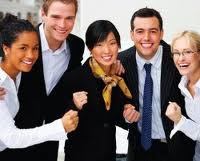 multi-cultural people, business, work ethic, team work